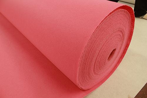 浅粉平纹婚庆地毯生产厂家
