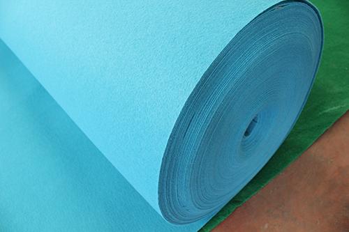 天兰平纹展览地毯