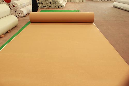 天津驼白平纹展会地毯