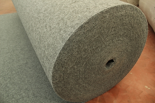 烟灰拉绒地毯