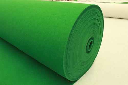 绿平纹地毯厂家