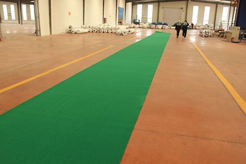 绿平纹地毯生产厂家