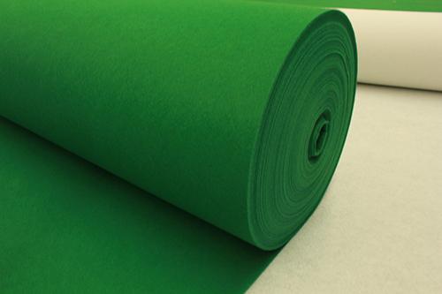 平面地毯的铺装